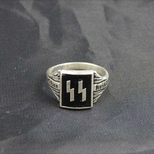 Waffen SS Ring Mine Ehre Heisst Treue Ring