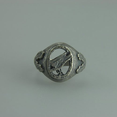 Luftwaffe Ring Pilot Observer German Nazi Ring WWII - var 2